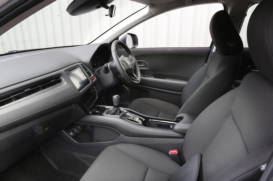 An inside look at the Honda HR-V