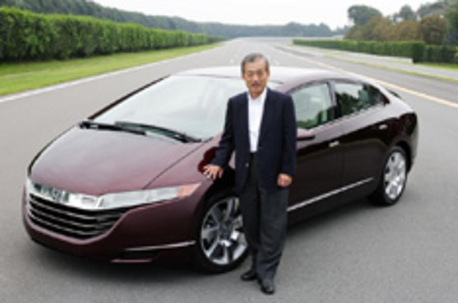 Latest Honda fuel-cell is go