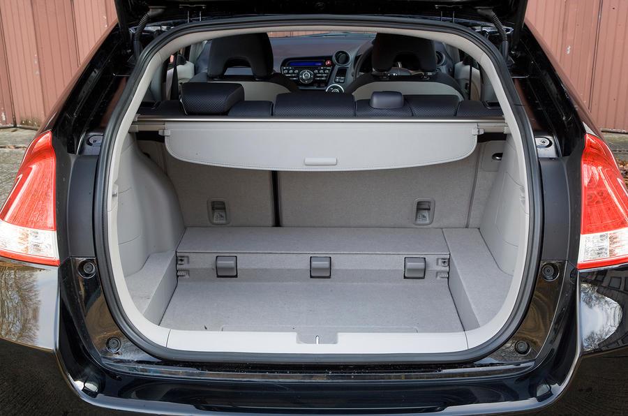Honda Insight boot space
