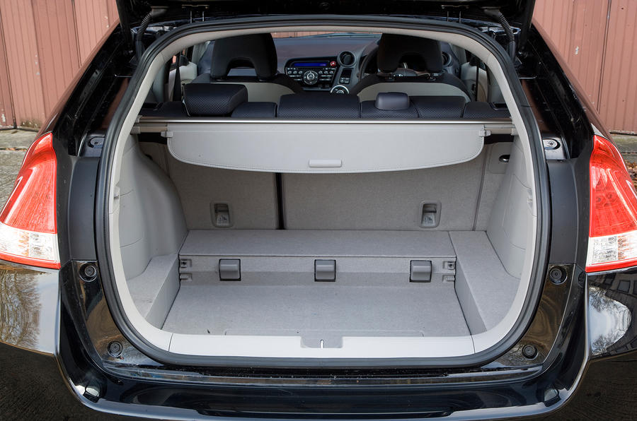 ... Honda Insight Boot Space ...