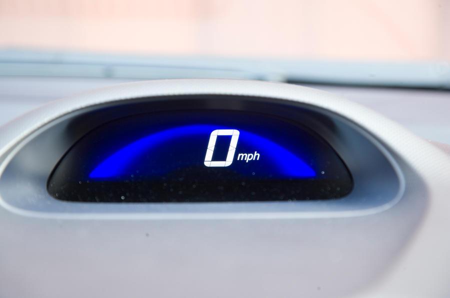 Honda Insight speedometer