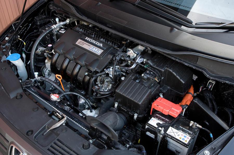 ... Honda Insight Hybrid Engine ...