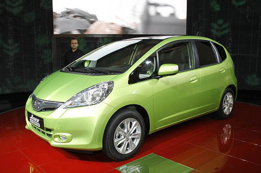 Paris motor show: Honda Jazz Hybrid