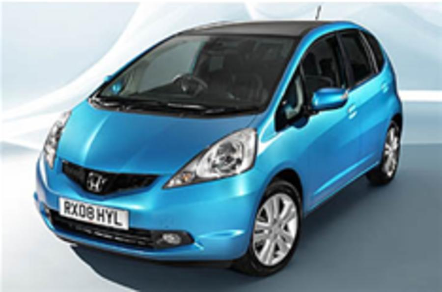 First view: Honda Jazz