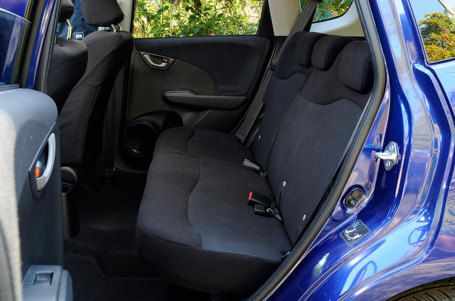 Honda Jazz rear seats