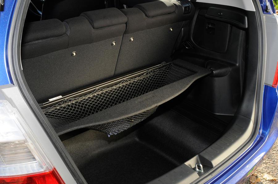 Honda Jazz underfloor boot space