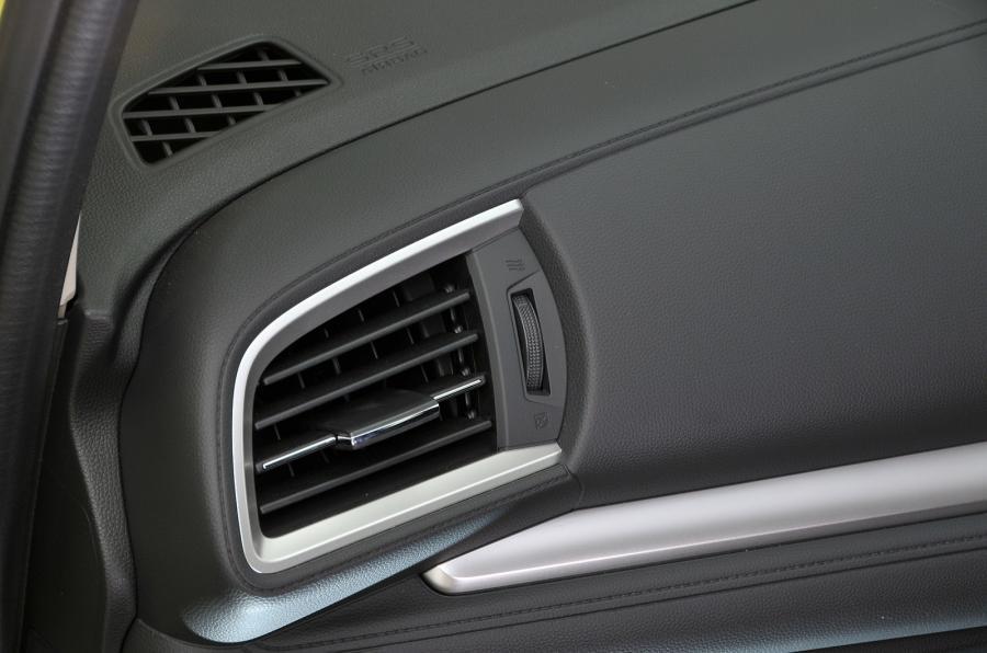 Honda Jazz air vents