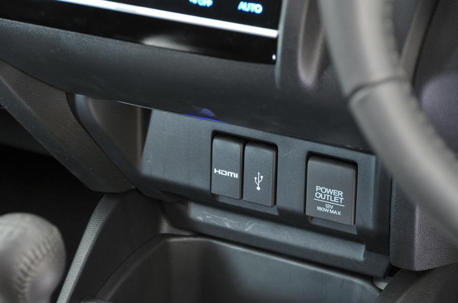Honda Jazz switchgear