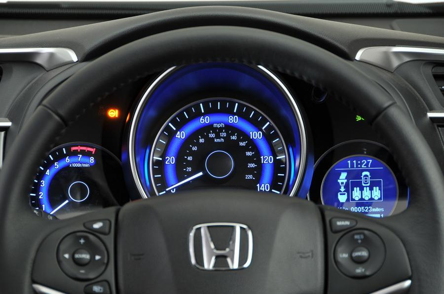 Honda Jazz instrument cluster