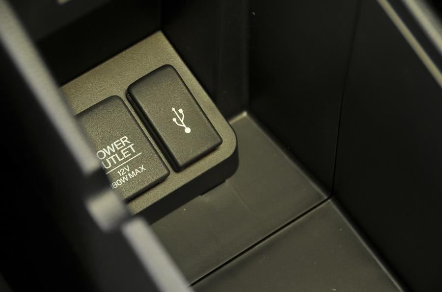 Honda Jazz USB ports