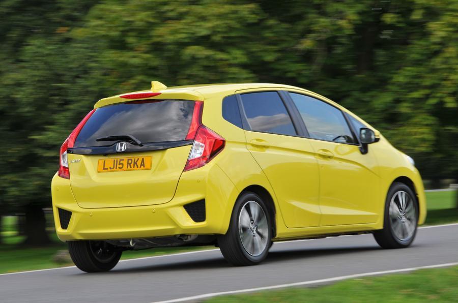Honda Jazz rear cornering