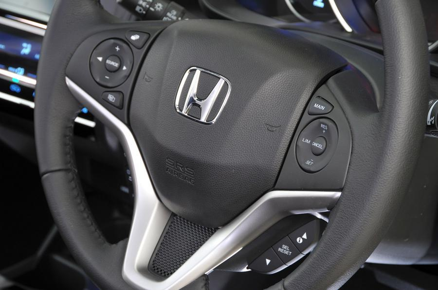 Honda Jazz steering wheel