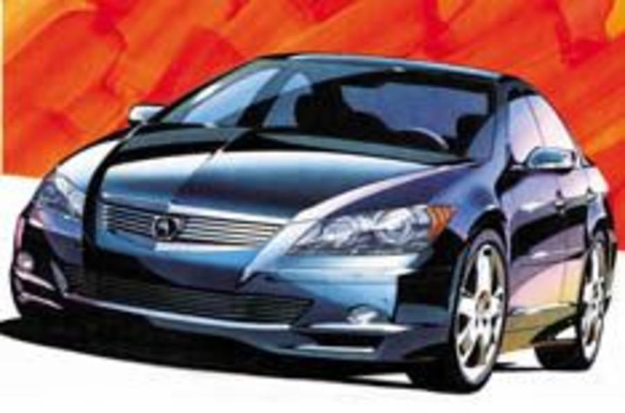 Honda unveils new 300bhp Legend