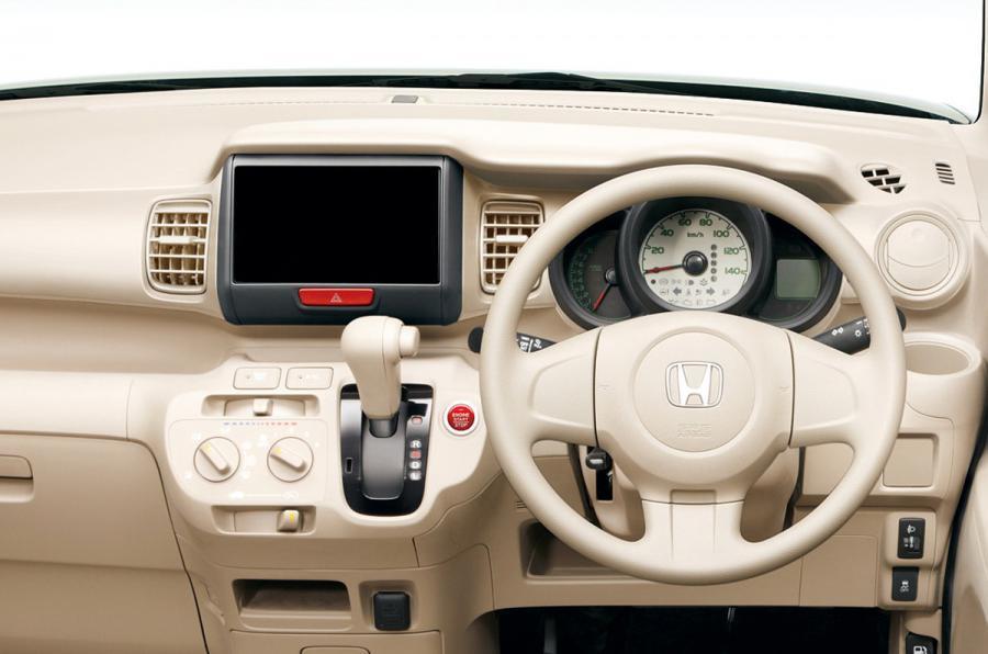 Honda N Box dashboard