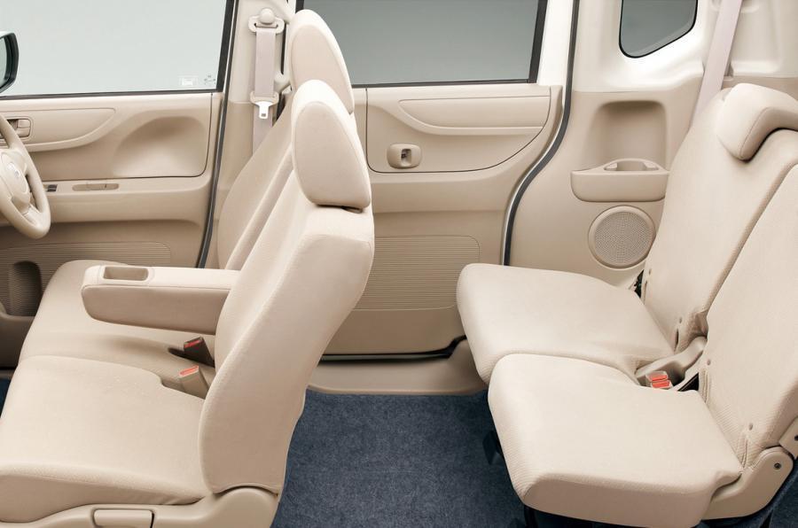 Honda N Box seating