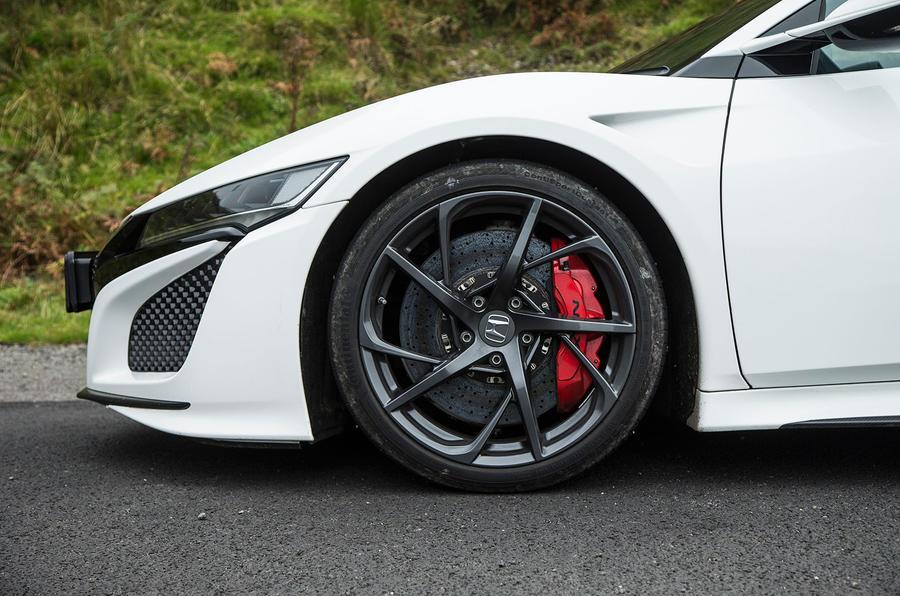 19in Honda NSX alloy wheels