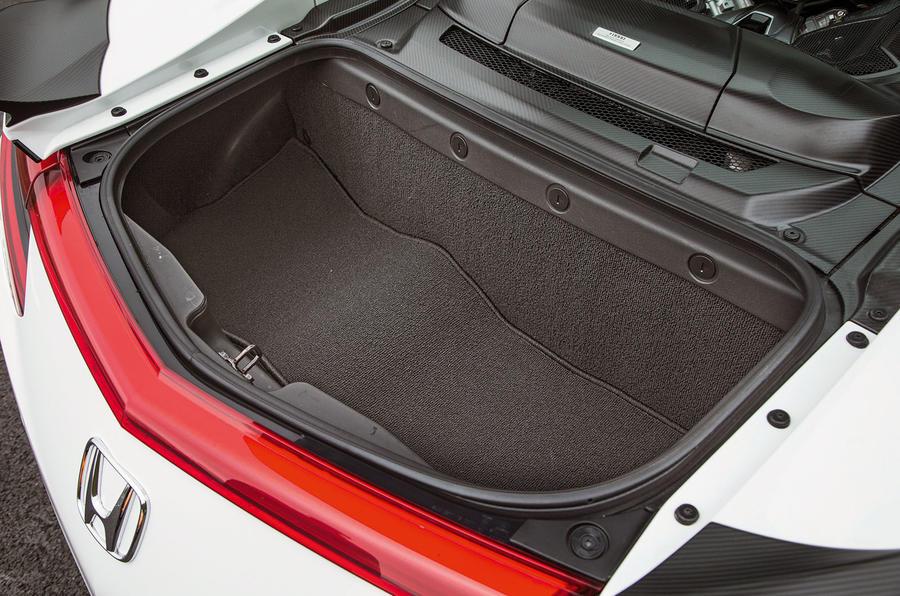 Honda NSX boot space