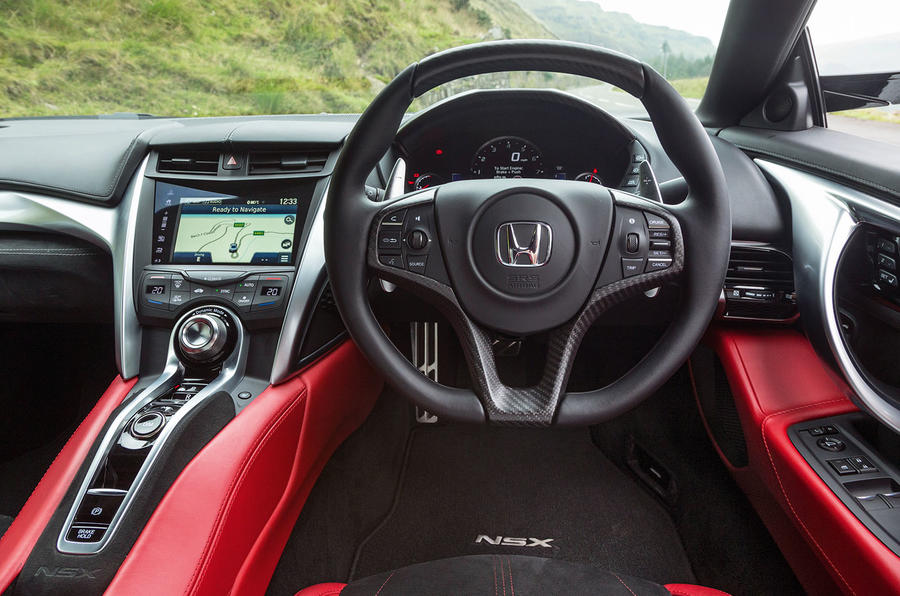 Honda NSX dashboard