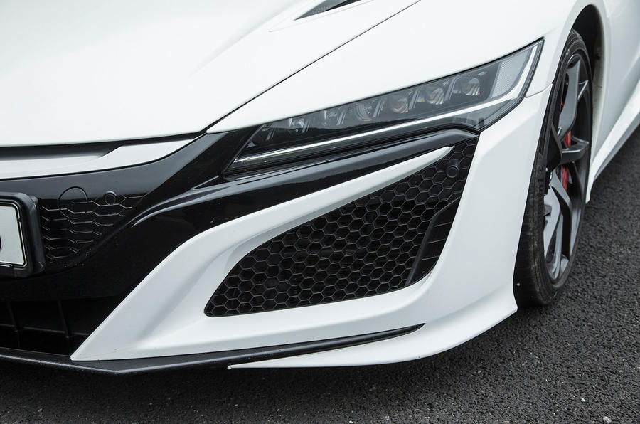 Honda NSX headlights