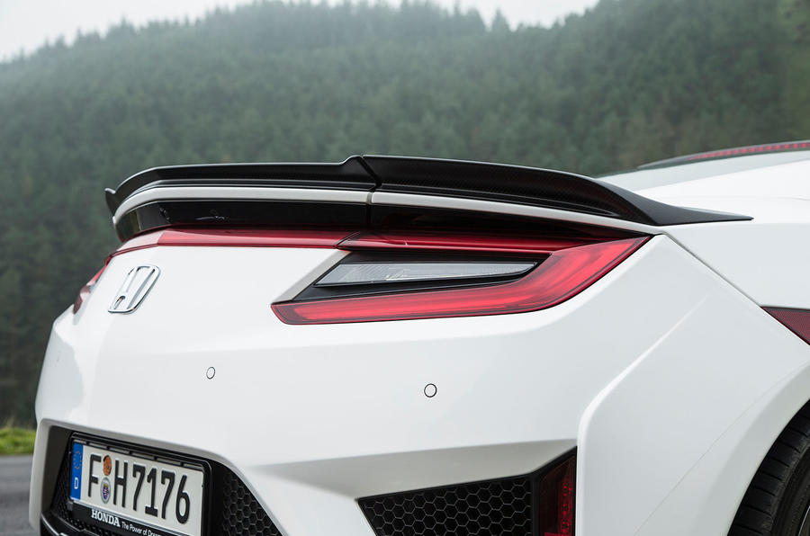 Honda NSX rear end