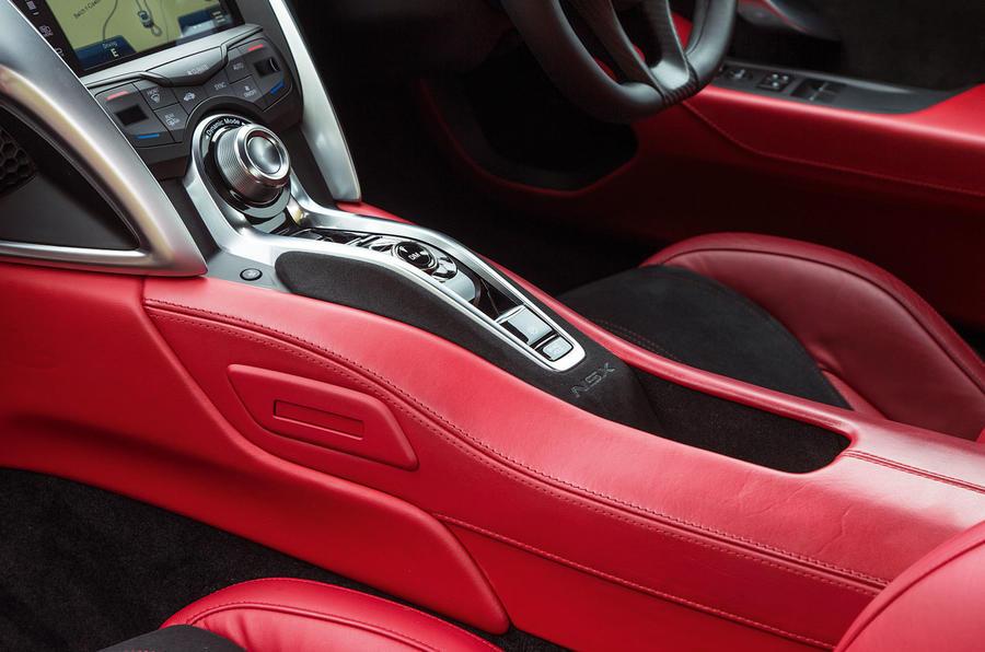 Honda NSX centre console