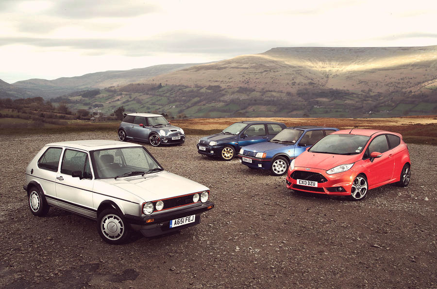 ... to find out which is the best hot hatchback from the past 40 years