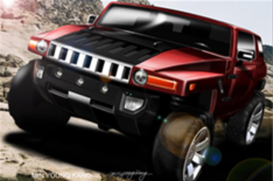 Hummer HX concept previews H4 baby SUV