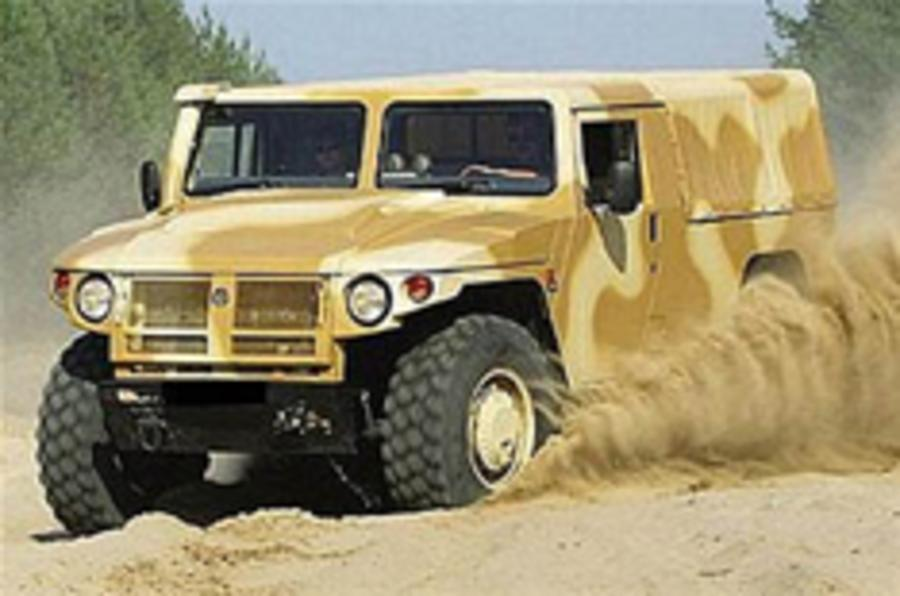 Hummer falls to the Russians?