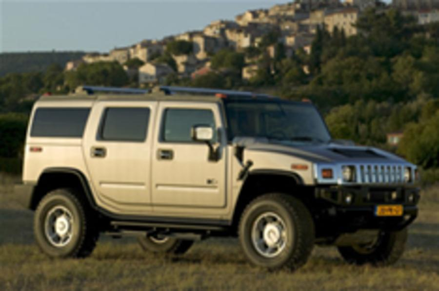 Hummer CO2 down by 100g/km