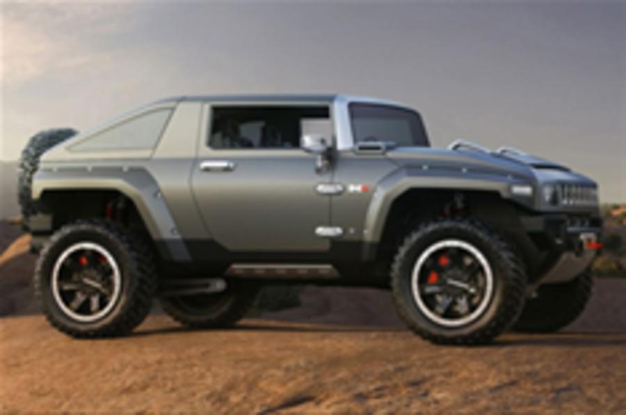 Hummer HX: junior mud-plugger in detail