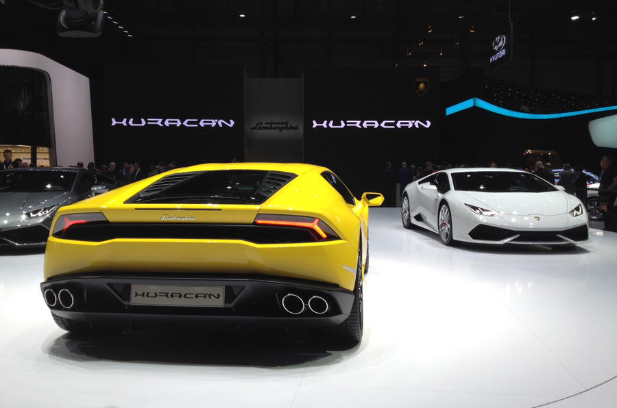 New tech for Lamborghini Huracán
