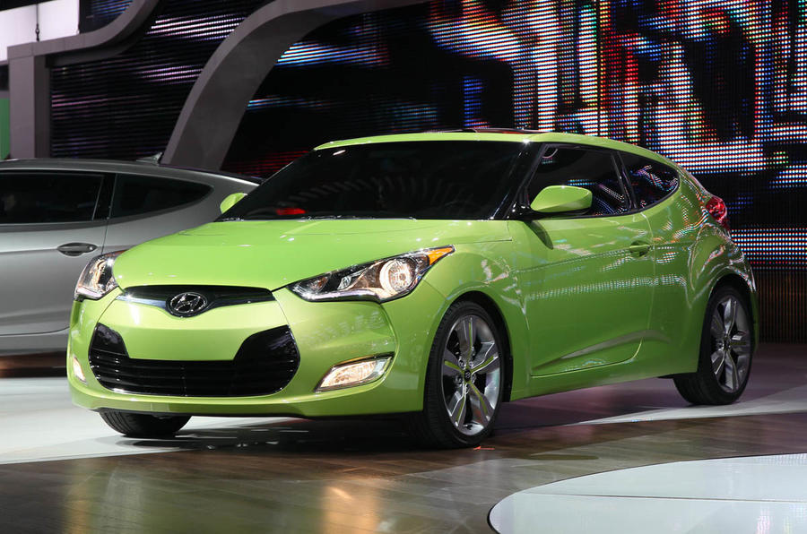 Geneva motor show: Hyundai Veloster