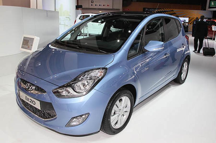 Paris motor show: Hyundai ix20 MPV