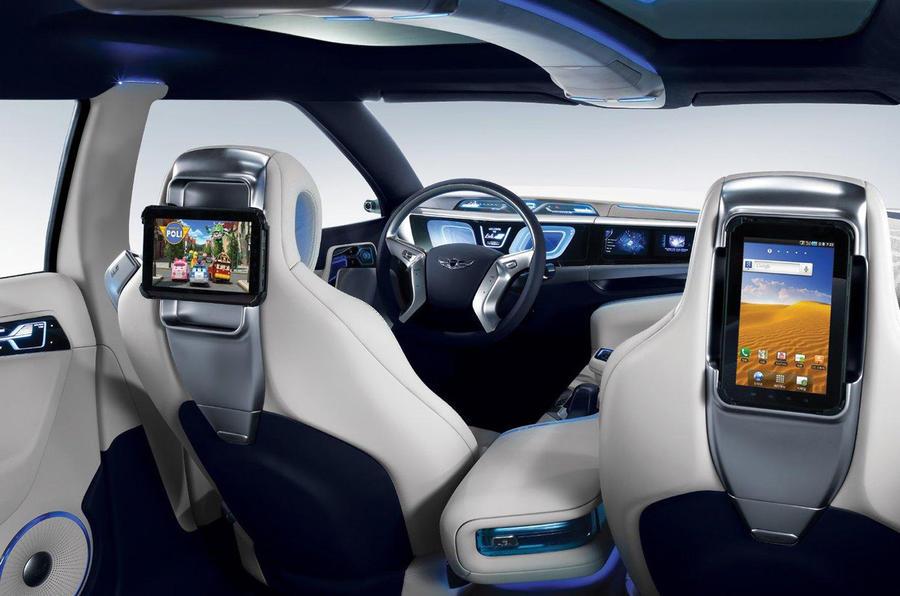 Hyundai's new hydrogen saloon