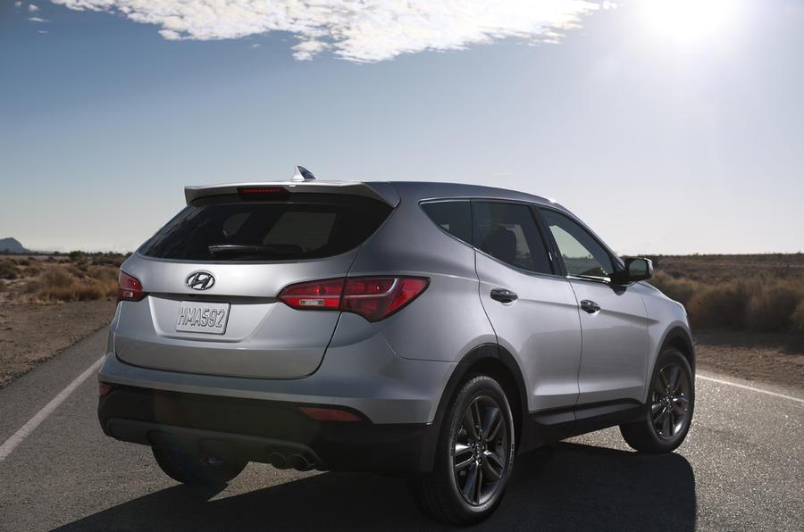 New York motor show: Hyundai Santa Fe