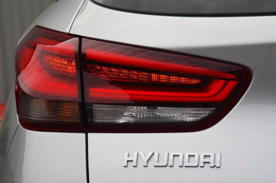 Hyundai i30 badging