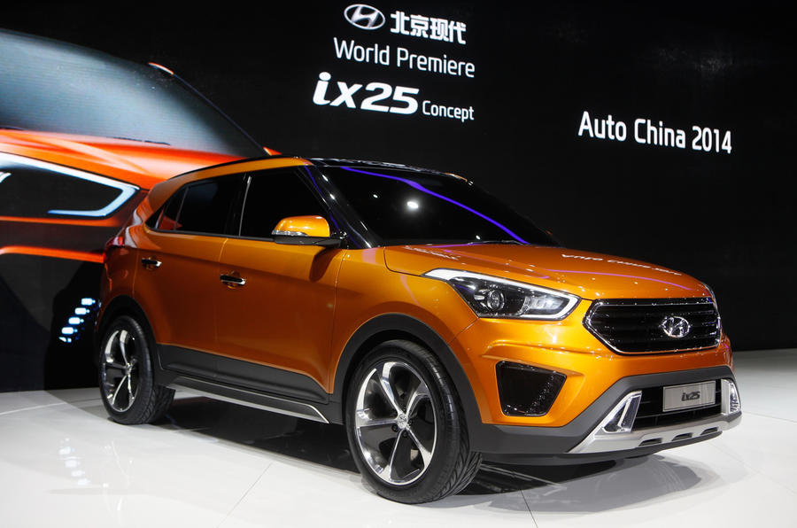 Hyundai ix25 concept gets Chinese debut