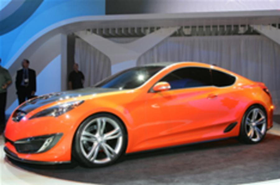 LA show: Hyundai uncovers Genesis coupe