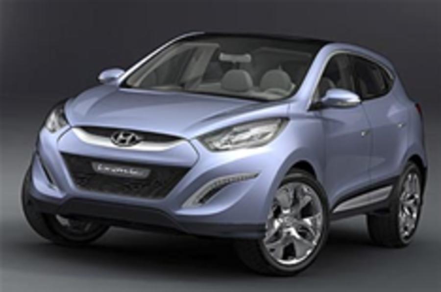 New Hyundai Tucson in the metal