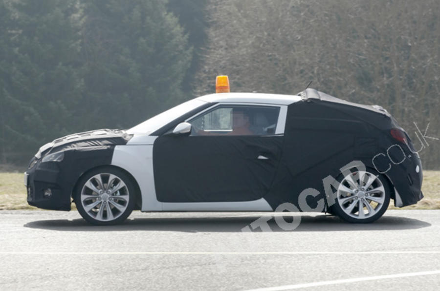 Hyundai Coupe launch in 2011