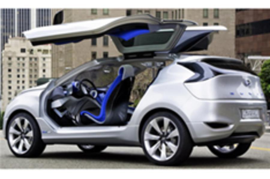 Hyundai Nuvis' crossover hints