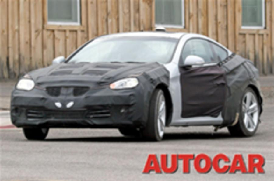 Rear-drive Hyundai Coupe headed for UK