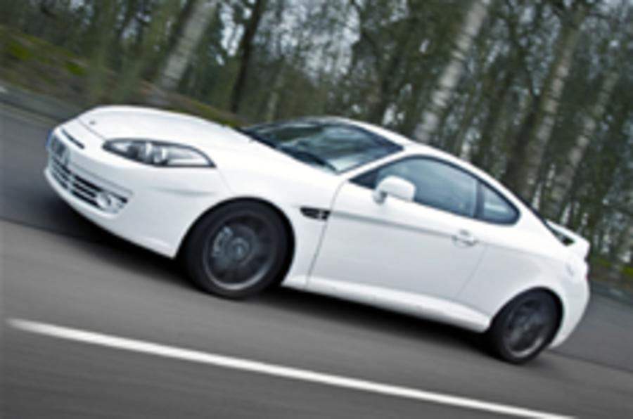 Hyundai Coupe now £12,995