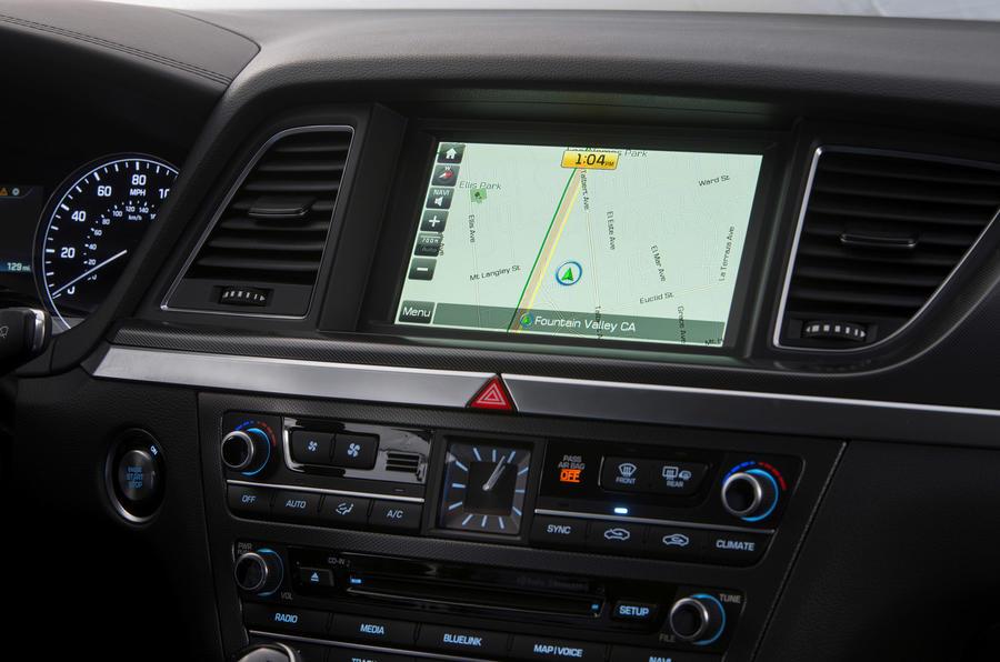 Hyundai Genesis infotainment system