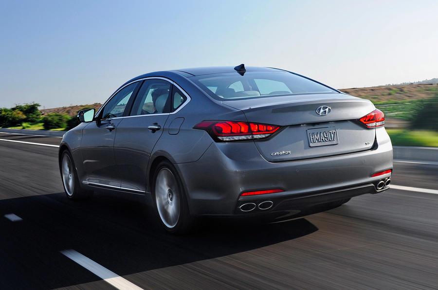 Hyundai Genesis rear quarter