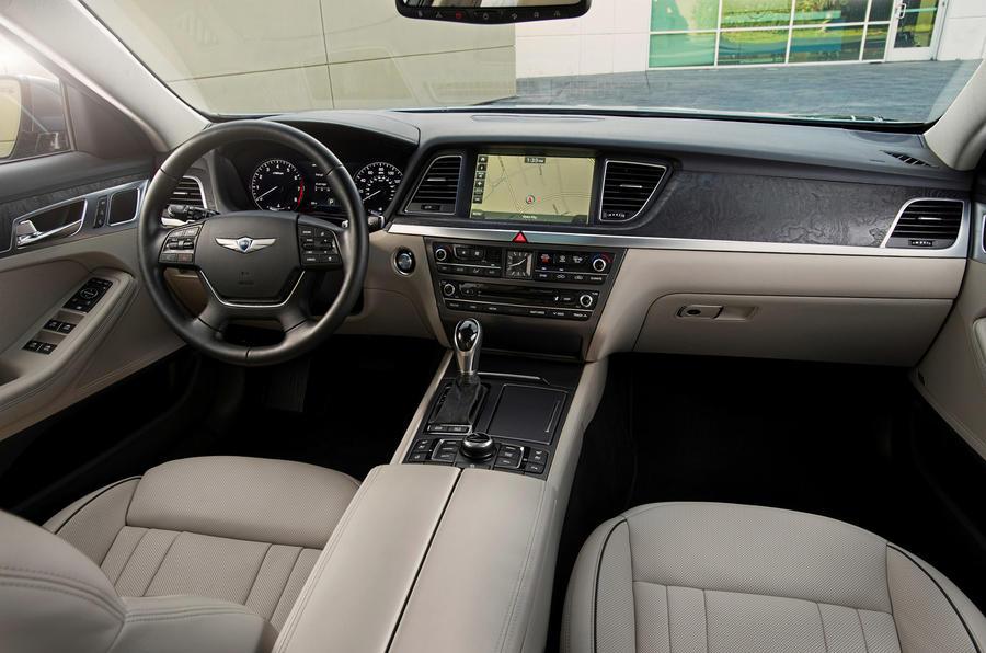 Hyundai Genesis dashboard
