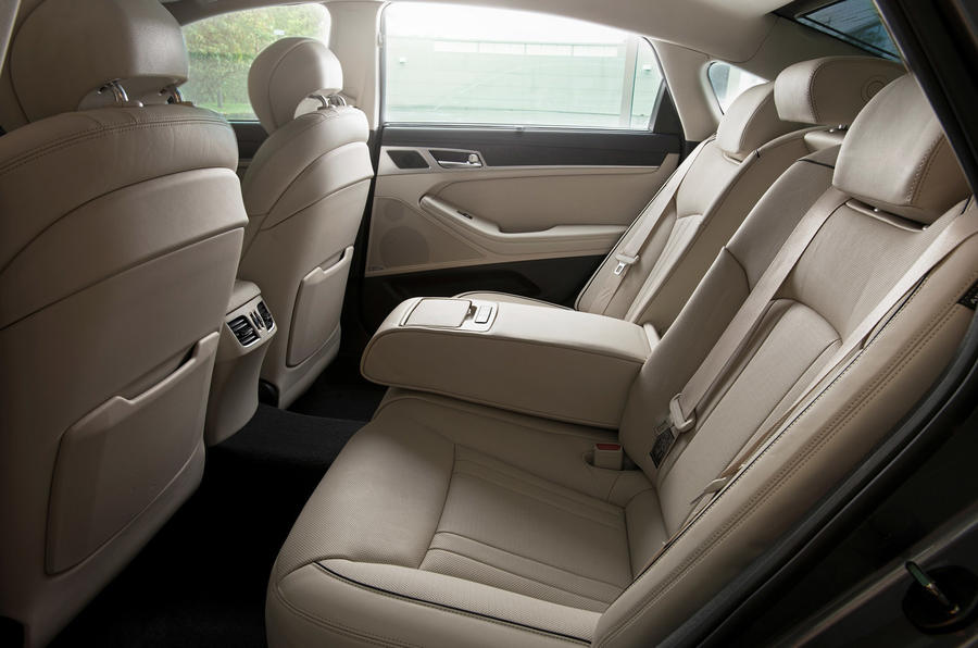 Hyundai Genesis rear seats