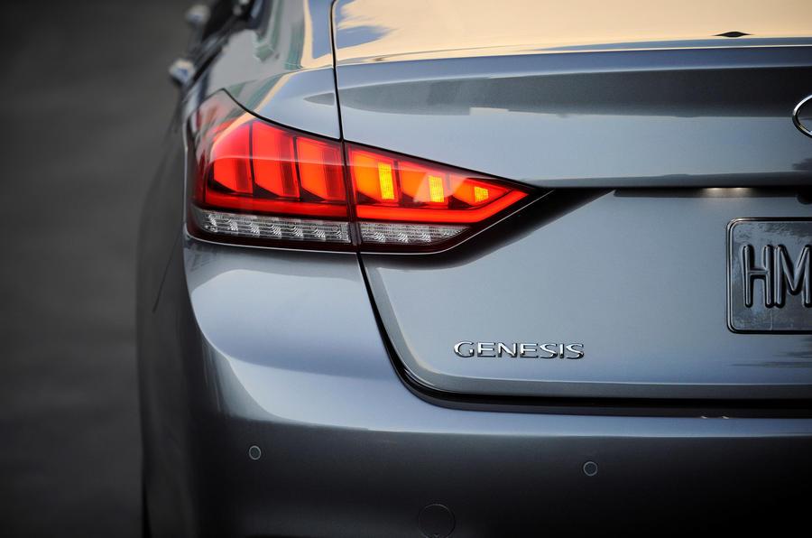 Hyundai Genesis rear light