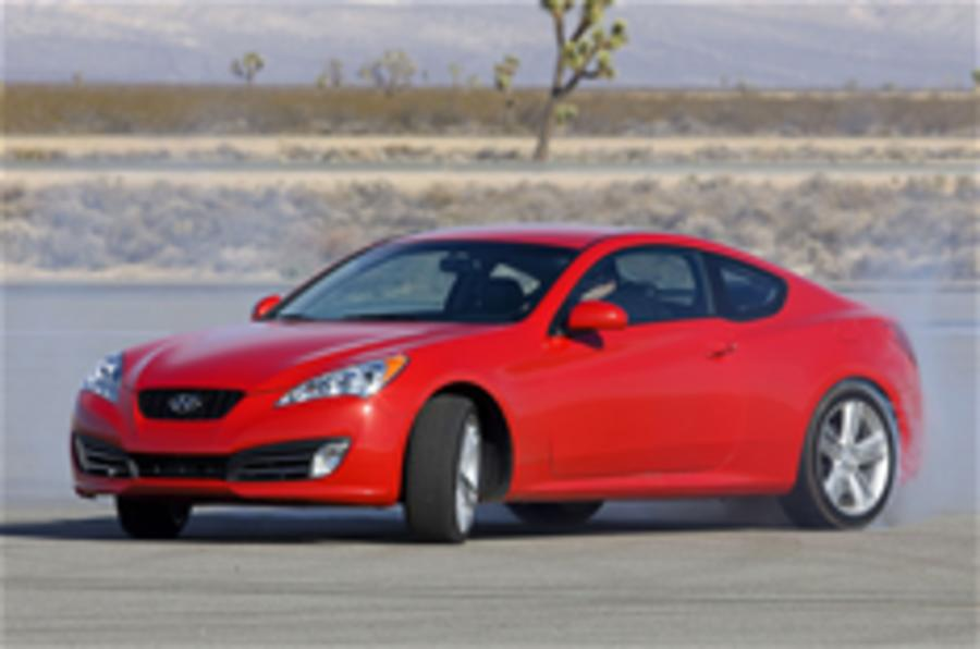 Hyundai Genesis Coupe set for UK