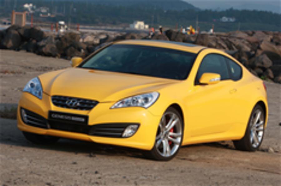 Hyundai Genesis Coupe for UK
